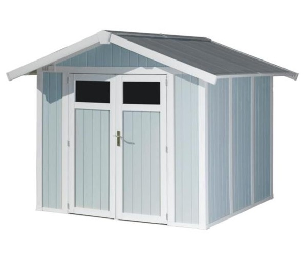 grosfillex utility 4 9 pvc shed. Black Bedroom Furniture Sets. Home Design Ideas